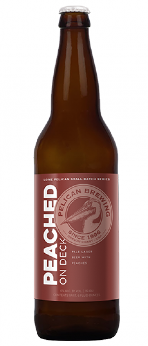 Peached On Deck by Pelican Brewing Company in Oregon, United States