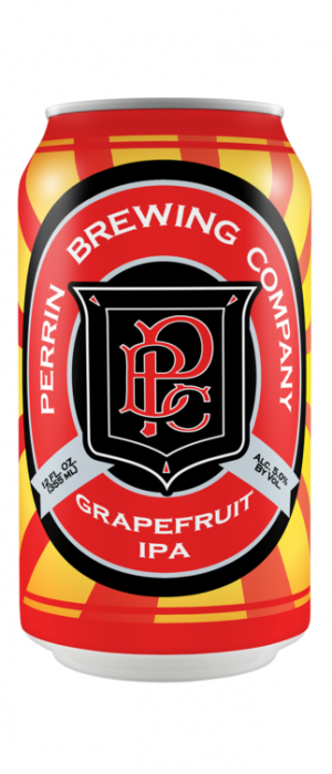 Grapefruit IPA by Perrin Brewing Company in Michigan, United States