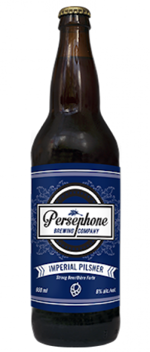 Imperial Pilsner by Persephone Brewing Company in British Columbia, Canada