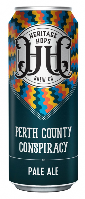 Perth County Conspiracy by Heritage Hops Brew Co. in Ontario, Canada