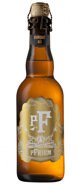 Kumquat Farmhouse Ale by pFriem Family Brewers in Oregon, United States