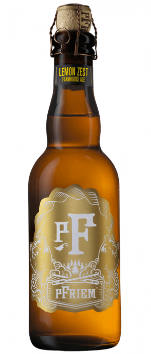 Lemon Zest Farmhouse Ale by pFriem Family Brewers in Oregon, United States