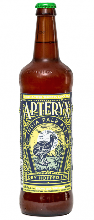 Apteryx by Phillips Brewing & Malting Company in British Columbia, Canada