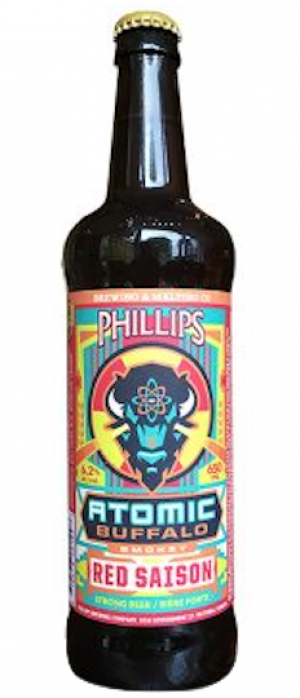 Atomic Buffalo by Phillips Brewing & Malting Company in British Columbia, Canada