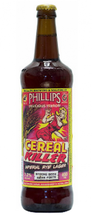 Cereal Killer by Phillips Brewing & Malting Company in British Columbia, Canada