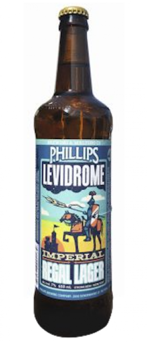 Levidrome by Phillips Brewing & Malting Company in British Columbia, Canada