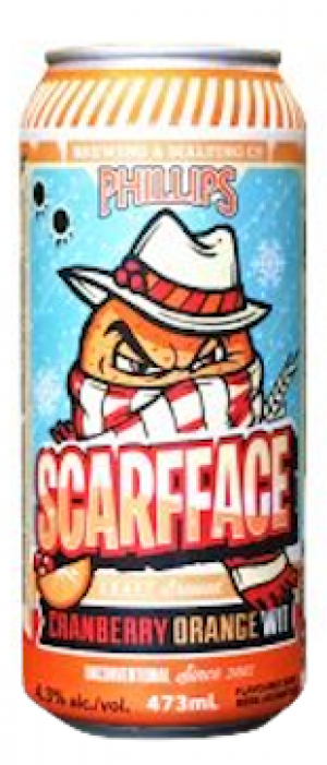 Scarfface by Phillips Brewing & Malting Company in British Columbia, Canada