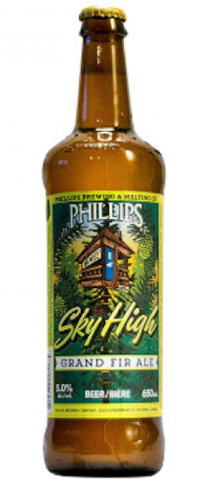 Sky High by Phillips Brewing & Malting Company in British Columbia, Canada