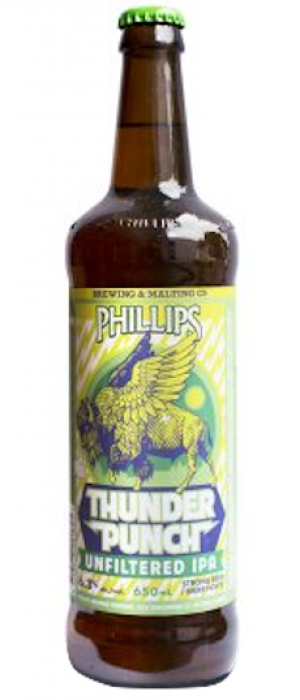 Thunderpunch by Phillips Brewing & Malting Company in British Columbia, Canada