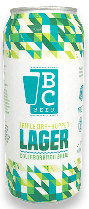 Triple Dry-Hopped Lager by Phillips Brewing & Malting Company in British Columbia, Canada