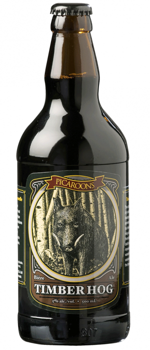Timber Hog by Picaroons Traditional Ales in New Brunswick, Canada