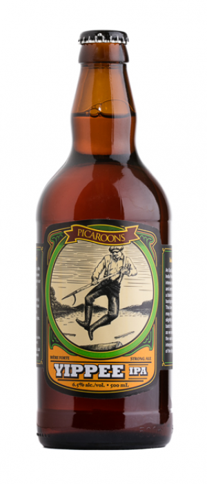 Yippee IPA by Picaroons Traditional Ales in New Brunswick, Canada