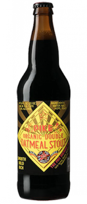 Organic Double Oatmeal Stout by The Pike Brewing Company in Washington, United States