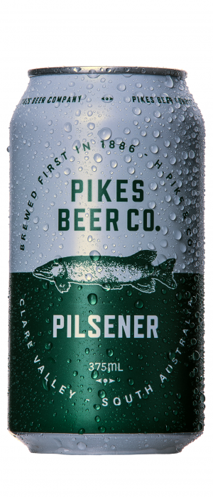 Pilsener by Pikes Beer Company in South Australia, Australia