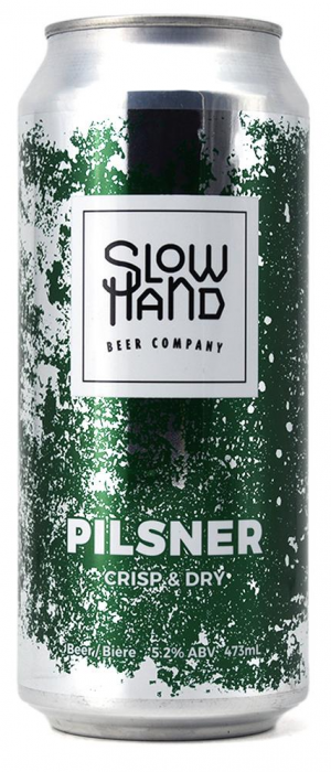 Pilsner by Slow Hand Beer Company in British Columbia, Canada