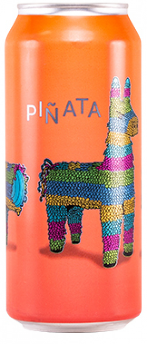 Piñata Ginger Peach Sour by Wellington Brewery in Ontario, Canada