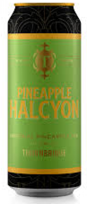 Pineapple Halcyon by Thornbridge in Derbyshire - England, United Kingdom