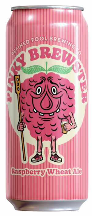 Pinky Brewster Raspberry Wheat Ale by Refined Fool Brewing Company in Ontario, Canada