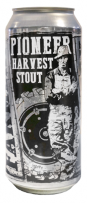 Pioneer Harvest Stout by Farmery Estate Brewery in Manitoba, Canada