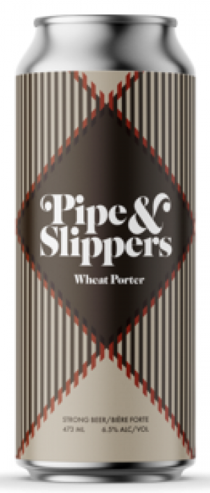 Pipe & Slippers Wheat Porter by Cabin Brewing Company in Alberta, Canada
