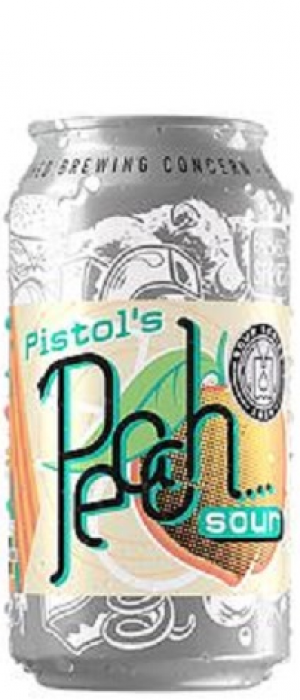 Pistol's Peach Sour by Big Shed Brewing Co. in South Australia, Australia