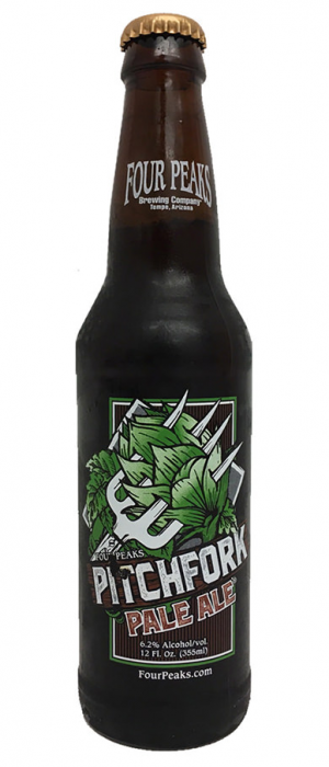 Pitchfork Pale Ale by Four Peaks Brewing Company in Arizona, United States