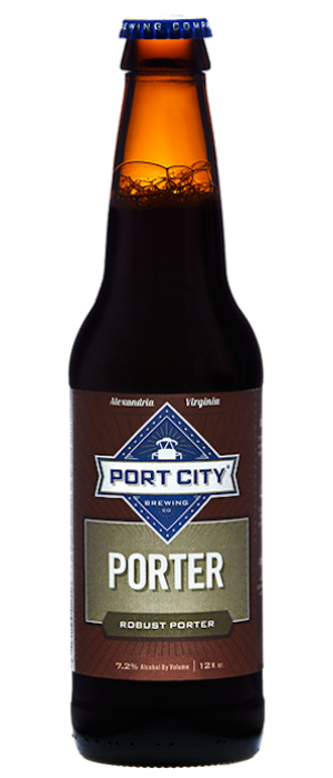 Port City Porter by Port City Brewing Company in Virginia, United States