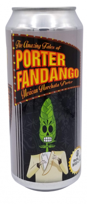 Porter Fandango by Analog Brewing in Alberta, Canada