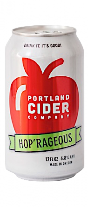 Hop 'Rageous by Portland Cider Company in Oregon, United States