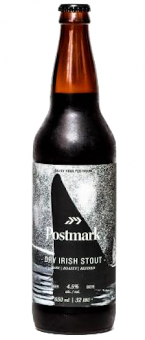 Dry Irish Stout by Postmark Brewing in British Columbia, Canada