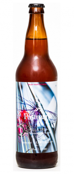 Ella IPA by Postmark Brewing in British Columbia, Canada
