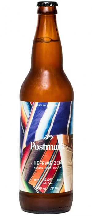 Hefeweizen by Postmark Brewing in British Columbia, Canada