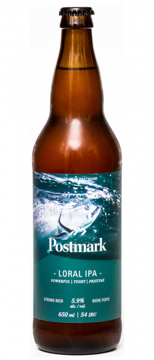 Loral IPA by Postmark Brewing in British Columbia, Canada
