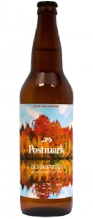Oktoberfest by Postmark Brewing in British Columbia, Canada