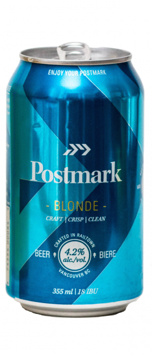 Blonde by Postmark Brewing in British Columbia, Canada