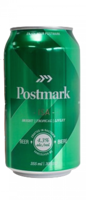 ISA by Postmark Brewing in British Columbia, Canada