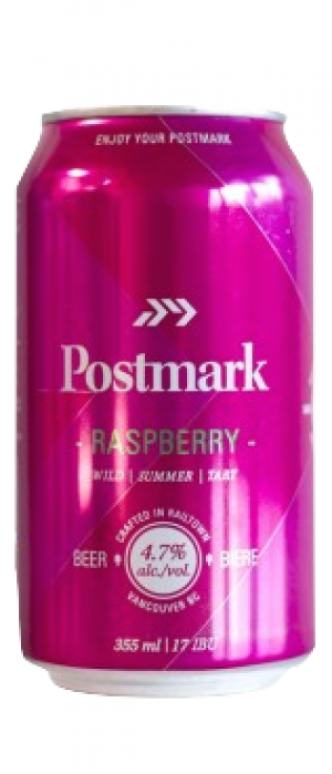 Raspberry by Postmark Brewing in British Columbia, Canada