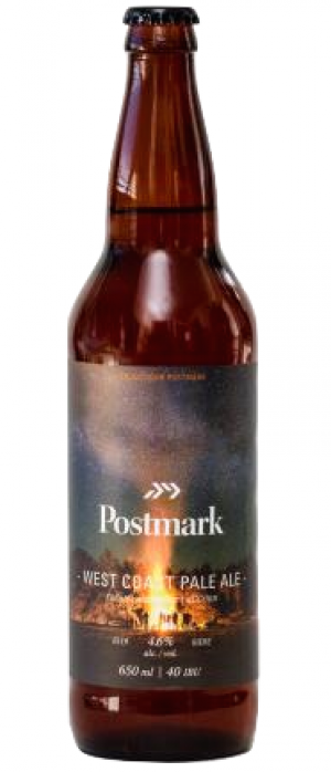 West Coast Pale Ale by Postmark Brewing in British Columbia, Canada