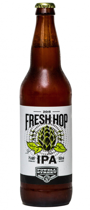 Fresh Hop IPA by Powell Brewery in British Columbia, Canada