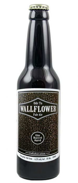 Ode to Wallflower by Powell Brewery in British Columbia, Canada
