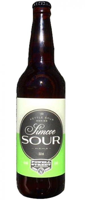 Simcoe Sour by Powell Brewery in British Columbia, Canada