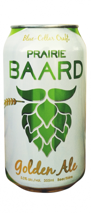 Golden Ale by Prairie Baard in Alberta, Canada