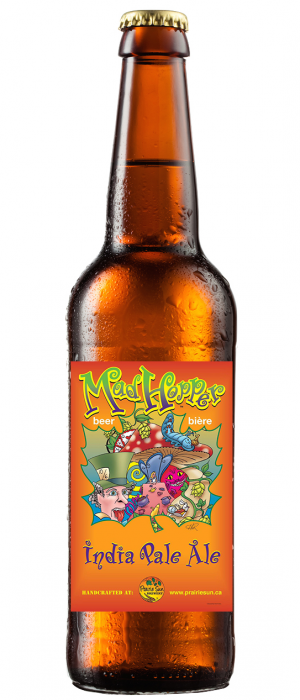 The Mad Hopper by Prairie Sun Brewery in Saskatchewan, Canada