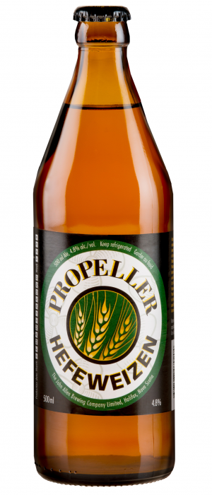 Hefeweizen Wheat Ale by Propeller Brewing Company in Nova Scotia, Canada