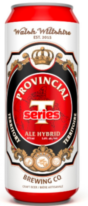 Provincial Territory Series Ale Hybrid by Walsh Wiltshire Brewing Co in Ontario, Canada