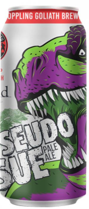 Pseudo Sue Pale Ale by Toppling Goliath Brewing Company in Iowa, United States