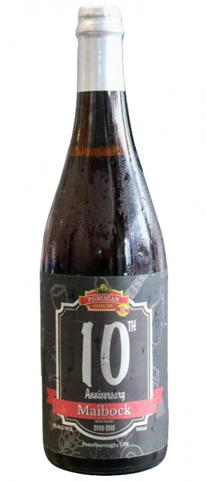 10th Anniversary Maibock by The Publican House Brewery in Ontario, Canada