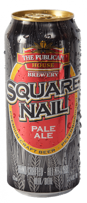 Square Nail Pale Ale by The Publican House Brewery in Ontario, Canada