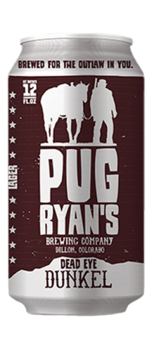 Dead Eye Dunkel by Pug Ryan's Brewing Company in Colorado, United States