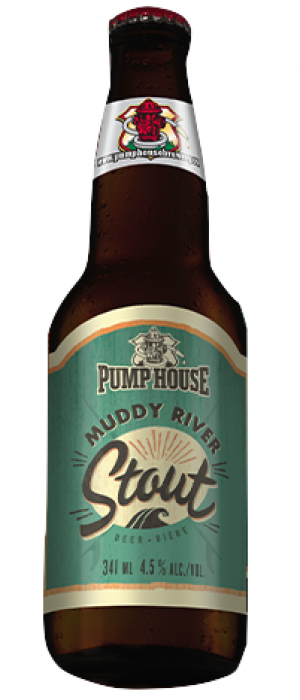 Muddy River by Pump House Brewery in New Brunswick, Canada